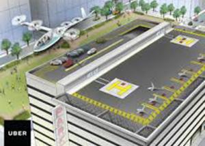 شركة Uber تعمل على السيارات الطائرة الذاتية القيادة