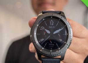 مبيعات.  مذهله للساعة الذكية Samsung Gear S3