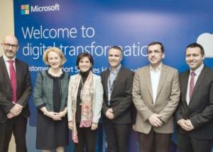 """لأول مرة في الأردن  : """" مايكروسوفت """" تطلق مركز """"خدمة ودعم العملاء"""" العالمي"""