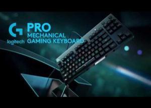 Logitech تعلن عن لوحة المفاتيح الميكانيكية الجديدة Logitech G Pro لعشاق الألعاب