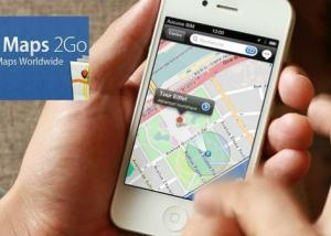 """خرائط """" CityMaps2Go Pro """" بدون إنترنت متوافر الآن لآيفون"""
