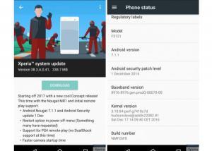 هاتف Xperia X من سوني  أول هاتف يحصل على أندرويد 7.1.1 خارج هواتف جوجل