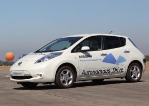 سيارة ذاتية القيادة لشركة نيسان تظهر في شوارع أوروبا لأول مرة
