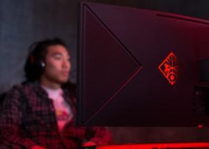 HP Omen X 35  شاشة منحنية جديدة من شركة HP بمميزات  موجهة لعشاق الألعاب