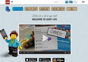 """""""ليجو لايف"""" موقع شبيه بـ إنستجرام لكن للأطفال لا تسمح الشركة بتواصل الأطفال مباشرة مع بعضهم عبر التعليقات النصية أو الرسائل على شبكتها الاجتماعية الجديدة."""
