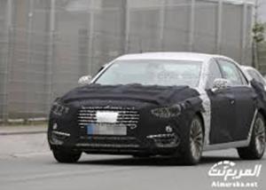 هيونداي سنتنيال 2017 بتقنيات تنافس الفئة السابعة واس كلاس Hyundai Equus