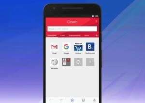 متصفح Opera لمنصة الأندرويد يحصل على تصميم جديد كليا