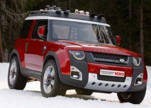 """طرح الجيل الجديد من  """"لاند روفر"""" Land Rover Defender"""