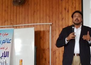 """خالد حسن : التكنولوجيا ادة التطوير لكافة التخصصات..ومبادرة """"رواد المستقبل"""" قفزة نوعية لتأهيل الطلاب"""