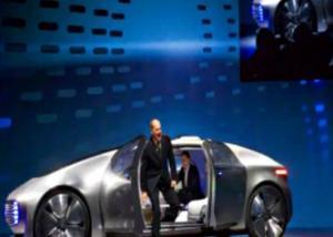 """""""مرسيدس""""  تكشف عن سيارة ذكية انسيابية يتغير شكلها أثناء الطريق"""