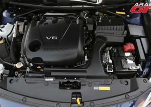 نيسان مكسيما 2016 بمحرك  V6 سعة 3.5 لتر مع نظام حقن مباشر للوقود