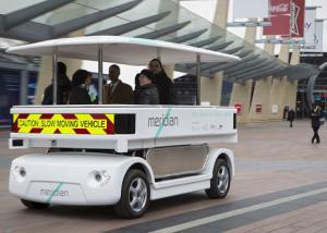 للمرة الأولى : أتوبيس بدون سائق لنقل المواطنين بشوارع أمريكا