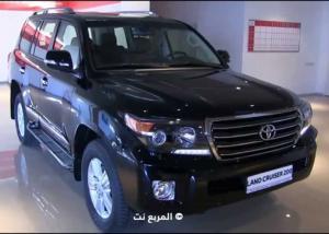 """""""تويوتا"""" لاند كروزر بالشكل الجديد تحصل على العديد من التطويرات Toyota 2016"""