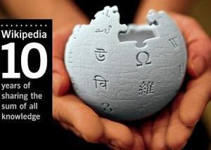 موقع ويكيبيديا يحتفل بالذكرى العاشرة لانطلاقه
