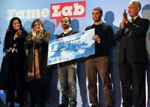 """طالب مصرى يفوز بالمركز الاول فى نهائيات مسابقة مختبر الشهرة """"Famelab"""""""