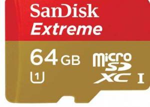""""""" سانديسك""""  تطلق عن بطاقة ذاكرة بسعة 256 جيجابايت"""